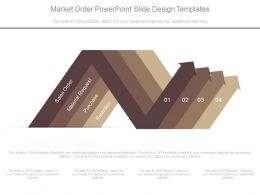 Market Order Powerpoint Slide Design Templates