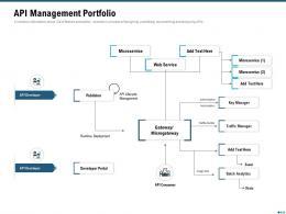 Market Outlook Of API Management API Management Portfolio Ppt Infographic Template Guidelines