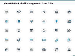 Market Outlook Of API Management Icons Slide Ppt Model Layouts