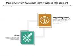Market Overview Customer Identity Access Management Ppt Powerpoint Presentation Infographic Template Styles Cpb