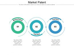 Market Patent Ppt Powerpoint Presentation Infographic Template Graphics Cpb