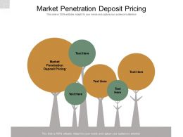 Market Penetration Deposit Pricing Ppt Powerpoint Presentation Styles Graphics Cpb