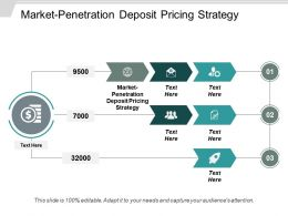 Market Penetration Deposit Pricing Strategy Ppt Powerpoint Presentation Ideas Outfit Cpb