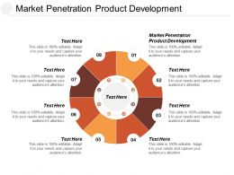 Market Penetration Product Development Ppt Powerpoint Presentation File Maker Cpb