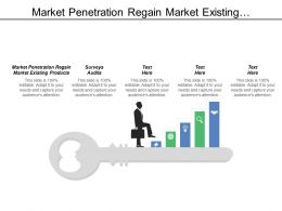 Market Penetration Regain Market Existing Products Surveys Audits