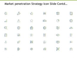 Market Penetration Strategy Icon Slide Contd Management Powerpoint Presentation