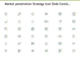 Market Penetration Strategy Icon Slide Contd Management Powerpoint Presentation