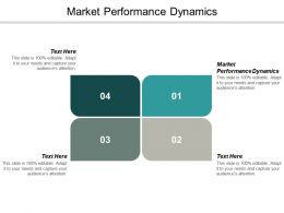 Market Performance Dynamics Ppt Powerpoint Presentation Summary Example Cpb