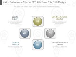 Market Performance Objective Ppt Slide Powerpoint Slide Designs
