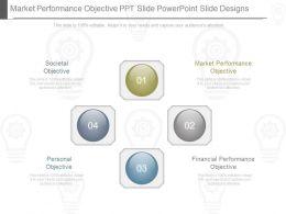 Market Performance Objective Ppt Slide Powerpoint Slide Designs