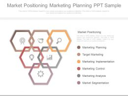 Market Positioning Marketing Planning Ppt Sample