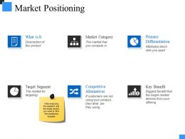 Market Positioning Powerpoint Presentation Templates