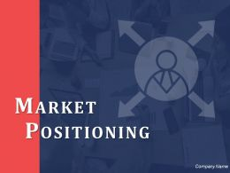 Market Positioning Ppt Inspiration Background Images Finding Position Among Present Competitors