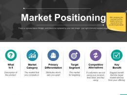 Market Positioning Ppt Professional Graphics Example