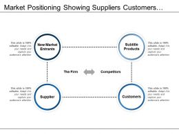 Market Positioning Showing Suppliers Customers Substitute Products