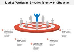 Market Positioning Showing Target With Silhouette