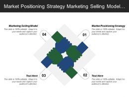 Market Positioning Strategy Marketing Selling Model Operational Strategies