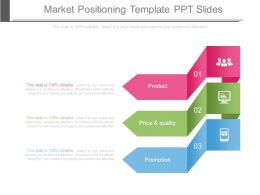 Market Positioning Template Ppt Slides