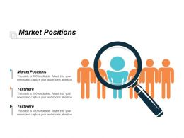 Market Positions Ppt Powerpoint Presentation Inspiration Show Cpb