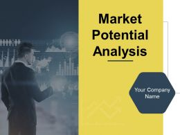 Market Potential Analysis Powerpoint Presentation Slides