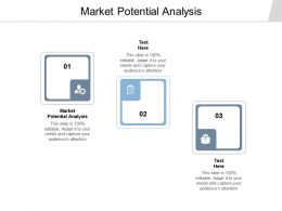 Market Potential Analysis Ppt Powerpoint Presentation Summary Templates Cpb