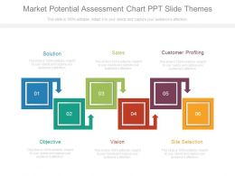 Market Potential Assessment Chart Ppt Slide Themes