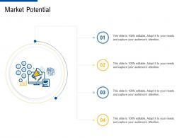 market potential factor strategies for customer targeting ppt brochure