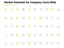 Market Potential For Company Icons Slide A440 Ppt Powerpoint Presentation Layouts Deck