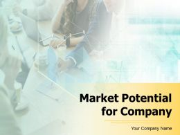 Market Potential For Company Powerpoint Presentation Slides