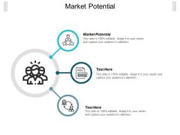 Market Potential Ppt Powerpoint Presentation Icon Introduction Cpb