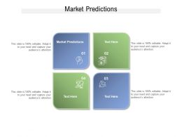 Market Predictions Ppt Powerpoint Presentation Model Example Cpb