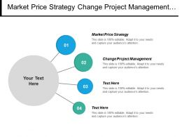 Market Price Strategy Change Project Management Change Project Management Cpb