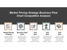 Market Pricing Strategy Business Flow Chart Competitive Analysis