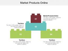 Market Products Online Ppt Powerpoint Presentation Portfolio Maker Cpb