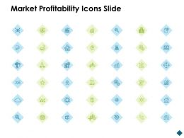 Market Profitability Icons Slide Security Ppt Powerpoint Presentation Show Summary