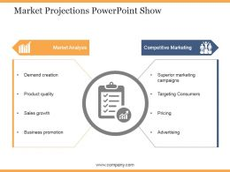 Market Projections Powerpoint Show