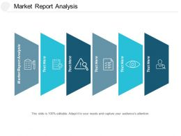 Market Report Analysis Ppt Powerpoint Presentation Pictures Templates Cpb
