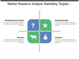 Market Research Analysis Marketing Targets Marketing Strategy Financial Projections