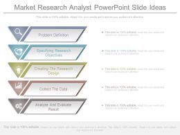 Market Research Analyst Powerpoint Slide Ideas