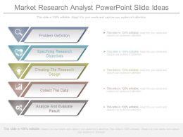 Market Research Analyst Powerpoint Slide Ideas