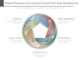 Market Research And Analysis Powerpoint Slide Backgrounds