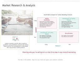 Market Research And Analysis Ppt Powerpoint Structure