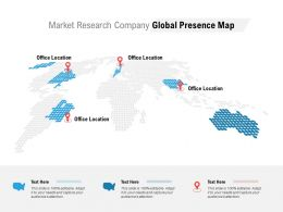 Market Research Company Global Presence Map