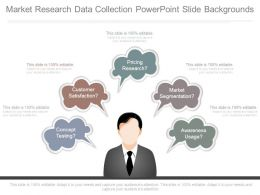 Market Research Data Collection Powerpoint Slide Backgrounds