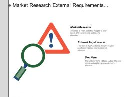 Market Research External Requirements Balance Sheet Income Statement