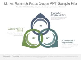 Market Research Focus Groups Ppt Sample File