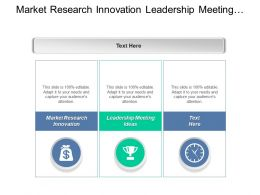 Market Research Innovation Leadership Meeting Ideas Digital Leadership Cpb