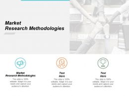 Market Research Methodologies Ppt Powerpoint Presentation Inspiration Slides Cpb