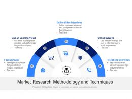 Market Research Methodology And Techniques