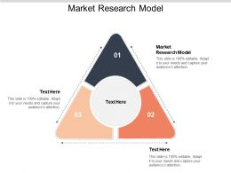 Market Research Model Ppt Powerpoint Presentation Professional Demonstration Cpb